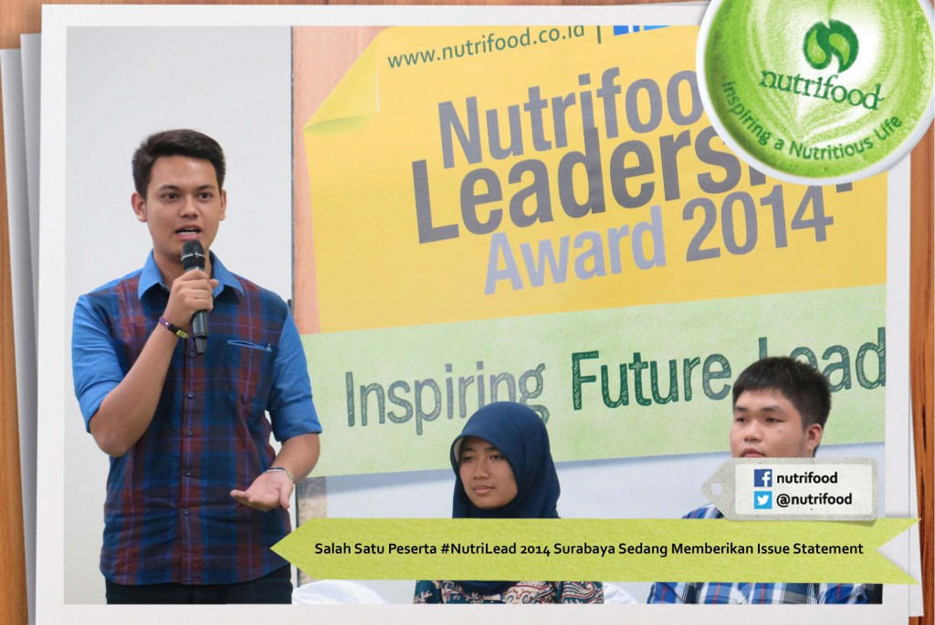 Salah-Satu-Peserta-NutriLead-2014-Surabaya-Sedang-Memberikan-Issue-Statement-1024x685