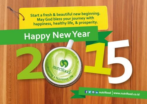 E-Card Tahun Baru 2015