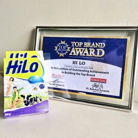 Top Brand Award - HiLo