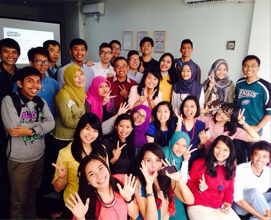 Peserta Crew Indonesia