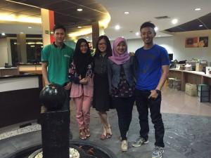 NUTRIP yang ditempatkan di head office Jakarta