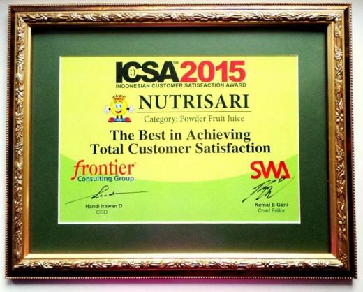 ICSA 2015 - NutriSari