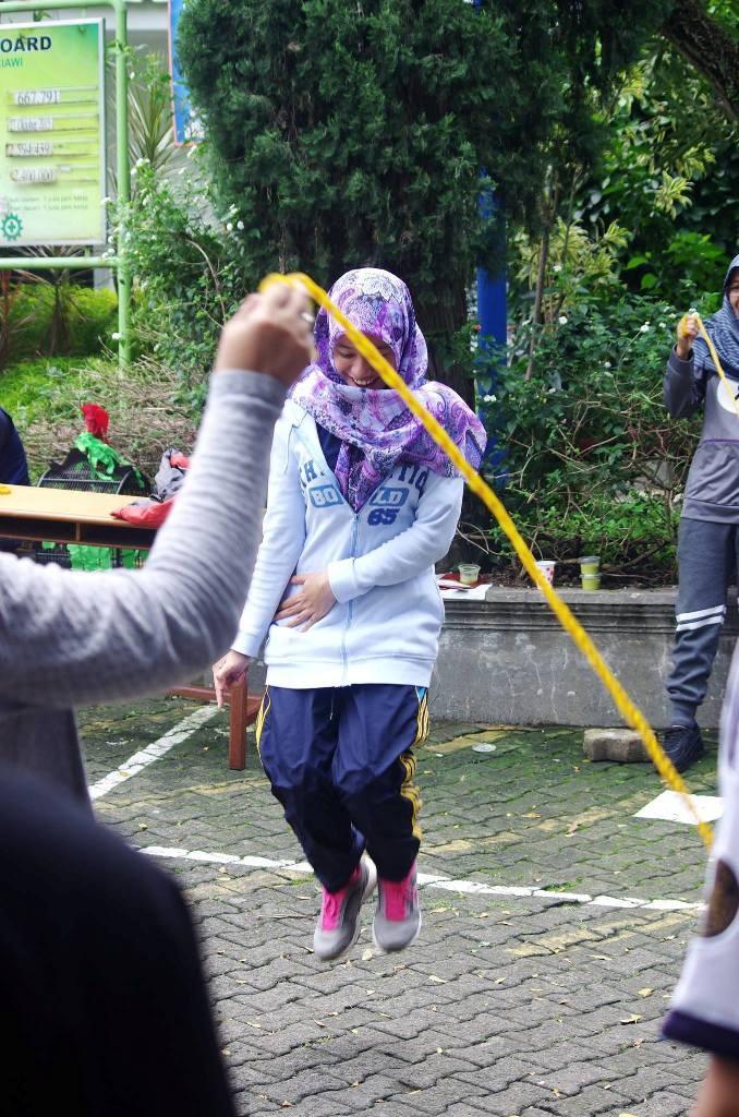 Lompat Tali di Plant Ciawi