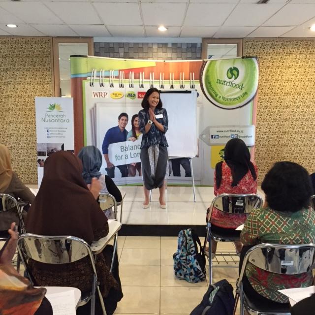 Pencerah Nusantara_Sambutan Ibu Nindi Sitepu